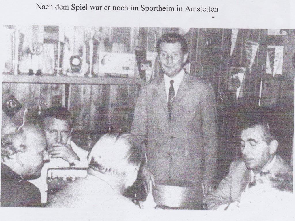 1969 - Fritz Walter im SVA Sportheim
