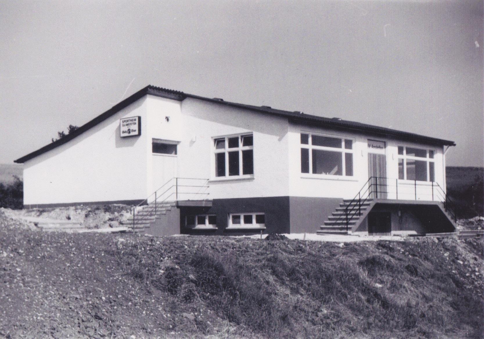 Vereinsheim neu