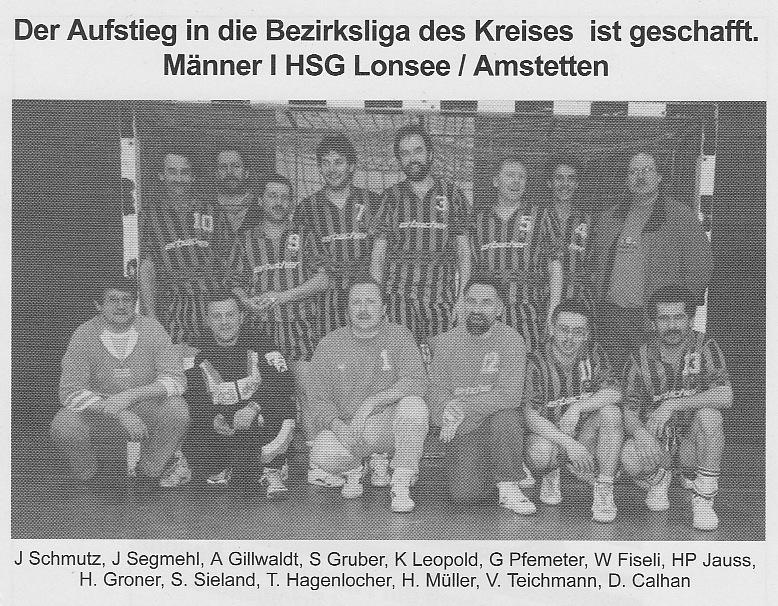 1990 - HSG Meisterteam 1