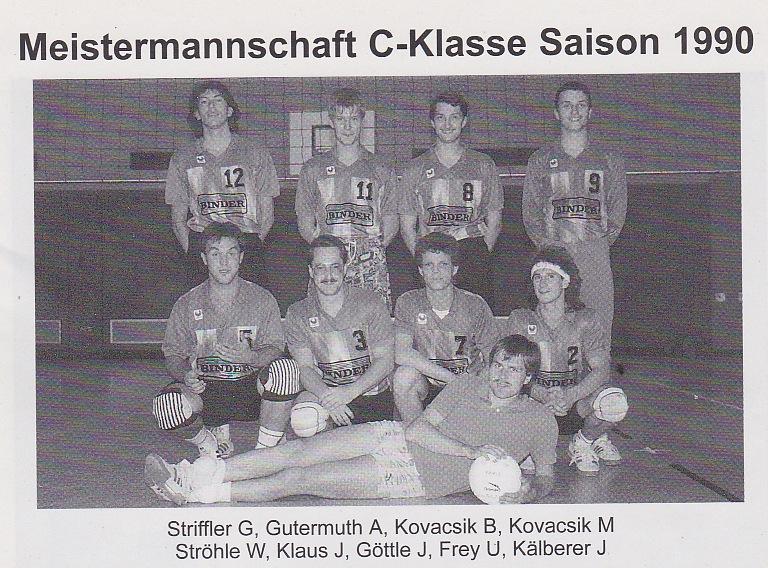 1990 - HSG Meisterteam