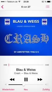 Blau un Weiss iPhone